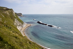 Man O'War Beach (James Mans) Tags: nikon d5500 dorset uk england coast seaside man owar beach south sky blue water sea ocean cliff 1020mm 1020afp