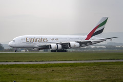 Emirates Airlines A6-EDE (Scottish Photography Productions | David Pollock) Tags: emirates airlines ek 025 026 027 028 airbus a380 super jumbo a6ede egpf gla glasgow abbotsinch international airport scotland pr press commercial