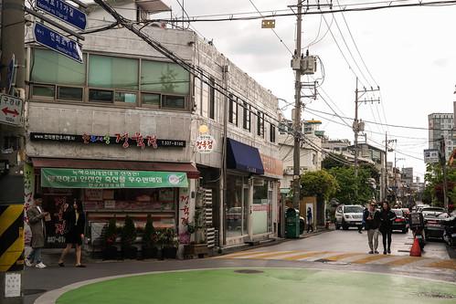 연희김밥 앞 골목길