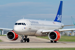 SAS Airbus A320neo EI-SIF (Mark_Aviation) Tags: turgesius viking sas ireland scandanavia scandanavian airlines airbus a320neo eisif manchester international ringway airport egcc man southside south side takeoff power loud fast acceleration aircraft airplane passenger jet leap 1a leap1a