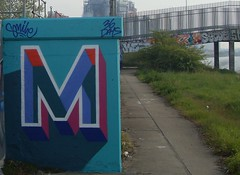 M by Smile Lakeside 2019 (Zarjaz2009) Tags: essex art aerosol graffiti spraycan spraypaint