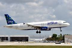 N564JB  A320-232  JetBlue Airways (n707pm) Tags: n564jb a320 airbus 320 airport airplane airline aircraft fll kfll fortlaurdale jetblueairways fortlauderdalehollywood 25042019 cn2020 florida usa absoulteblue