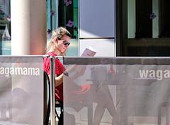 Cafe Culture (Bury Gardener) Tags: burystedmunds britain suffolk streetphotography street streetcandids snaps strangers candid candids people peoplewatching folks england eastanglia uk 2019 fuji fujixt3 fujifilm arc thearc