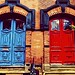 Doors of Saint John, New Brunswick.