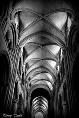 Durham Cathedral (alpenfrankie) Tags: canon eos 750d church cathedral black white bw durham