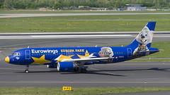 D-ABDQ Airbus A320-214 (Europa Park Livery) (Disktoaster) Tags: dus düsseldorf airport flugzeug aircraft palnespotting aviation plane spotting spotter airplane pentaxk1