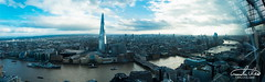 London Panorama (Theo Crazzolara) Tags: london uk city cityscape skyline overview view lookout england europe eu great britain scenic scenery landscape business sky shard skyscraper tower architecture panorama panoramic top thames