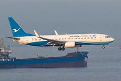 XIAMEN AIR B737-800(WL) B-5388 001 (A.S. Kevin N.V.M.M. Chung) Tags: aviation aircraft aeroplane airport airlines plane spotting macauinternationalairport mfm landing boeing b737800wl b737