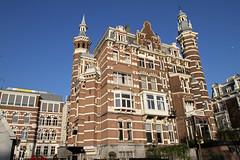 Amsterdam2014_304 (schulzharri) Tags: amsterdam holland niederlande netherlands europ europe water building house haus sun sonne sky himmel blau blue