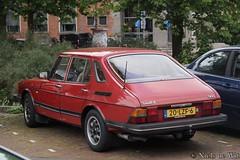 1986 Saab 900 (NielsdeWit) Tags: nielsdewit car vehicle 20lzf6 saab 900 zutphen