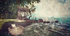 #CandleWoodContest2019- Alexxianna Resident (FlashMe Photography) Tags: sl secondlife landscape candlewood beach sea ocean candlewoodcontest2019 summer vacation painted postcard