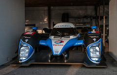 Peugeot LMP1 lurks in the pits (Jez B) Tags: goodwood members meeting 2019 77 77mm mm77 grrc road racing club competition motor sport motorsport historic classic auto car race peugeot lmp1 le mans prototype pits