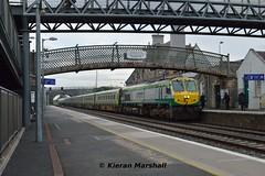 219 passes Kildare, 17/4/19 (hurricanemk1c) Tags: railways railway train trains irish rail irishrail iarnród éireann iarnródéireann kildare 2019 generalmotors gm emd 201 219 1800heustoncork