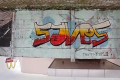 Gambar Pusingcans sisa ga niat ga pake konsep ga... (UK Graff) Tags: graffiti uk graff