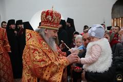 47. Пасхальная вечерня в соборе г. Святогорска 28.04.2019