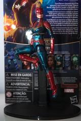 DSC_1064 (Quantum Stalker) Tags: hasbro marvel legends captain mcu cinematic universe carol danvers figure brie larson comparison