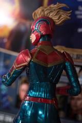 DSC_1062 (Quantum Stalker) Tags: hasbro marvel legends captain mcu cinematic universe carol danvers figure brie larson comparison