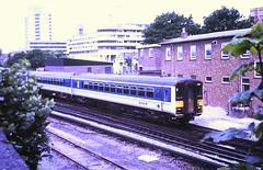 Slide 138-01 (Steve Guess) Tags: southampton hampshire england gb uk hants regional railways sprinter train diesel unit 308