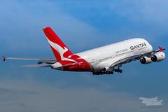 VH-OQC QF A380 34L YSSY-8728 (A u s s i e P o m m) Tags: sydney newsouthwales australia qantas qf qfa airbus a380 syd yssy sydneyairport