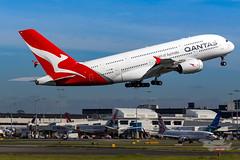 VH-OQC QF A380 34L YSSY-8724 (A u s s i e P o m m) Tags: sydney newsouthwales australia qantas qf qfa airbus a380 syd yssy sydneyairport