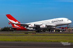 VH-OQC QF A380 34L YSSY-8722 (A u s s i e P o m m) Tags: sydney newsouthwales australia qantas qf qfa airbus a380 syd yssy sydneyairport