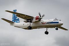 An-26   Raf-Avia Airlines (lee adcock) Tags: an26 antonov dsa nikond500 rafaviaairlines runway02 tamron150600g2 ylrac airplane