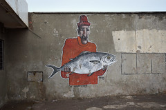 Graffiti, Fishing Port, Essaouira (robseye76) Tags: morocco maroco maroc trip africa afryka travel holiday atlantic coast atlanticcoast atlantyk essaouira citadel skala de la kasbah essaouiracitadel sqaladelakasbah fishing port fishingport graffiti street streetart fishermen fisherman boat boats
