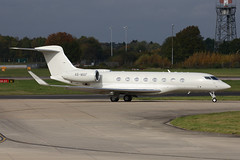 Gulfstream G650 (nickchalloner) Tags: a6maf gulfstream g650 london stansted airport egss stn
