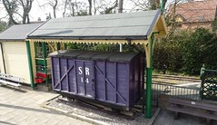 Apr 2019 - Remaining original luggage wagon No14 of Southwold Railway resident at East Anglia Transport Museum. (RTW501) Tags: goodswagon southwoldrailway eatm eastangliatransportmuseum luggagewagon 3footgauge narrowgauge
