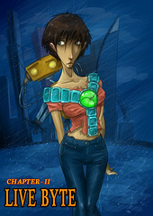 COver (ponchara80) Tags: comic page illustration draw love romance story comix comics digital art sheet fantastic fun funny