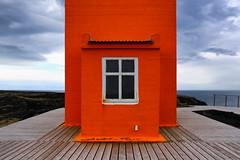 Svörtuloft Lighthouse (erichudson78) Tags: island islande iceland phare lighthouse canoneos6d svörtuloft seaside borddemer horizon colored fenêtre window