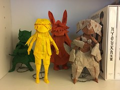 All Made in Abyss designs thus far (Jonas B. Nilsson) Tags: origami mia abyss characters design complex complexorigami box boxpleating