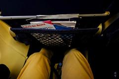 Tight legroom (A. Wee) Tags: sas 北欧航空 scandinavianairlines boeing 737 737700 经济舱 economyclass