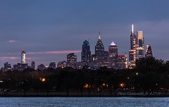 Philadelphia, PA USA - After Sunset 4.27.19 (Al Camardella Jr.) Tags: philadelphia philly skyline nighttimephotography cityatnight cityofbrotherlylove cityskylines cooperriverpark camdencounty cloudsandsky comcastcenter comcastcenter2 libertyplace fmctower cooperriver cityglow