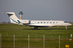 M-BADU // Gulfstream G650 // Stansted (SimonNicholls27) Tags: mbadu g650 stansted egss stn private jet