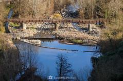 El pont de fusta (SantiMB.Photos) Tags: 2blog 2tumblr 2ig castellfollitdelaroca garrotxa girona invierno winter puente bridge río river fluvià reflejo reflection geo:lat=4221895541 geo:lon=255279967 geotagged cataluna españa