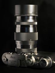 LEICA III WITH CANON SERENAR (a-r-g-u-s) Tags: leica serenar canon camaras antiguas 90mm nikon d700