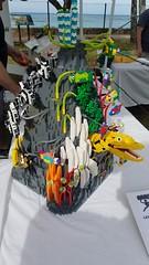"""08 (""""Big Daddy"""" Nelson) Tags: leahi hawaii waikiki aquarium fish lego event afol"""