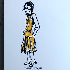 164/365 04-22-19 Fashion (Lainey1) Tags: women woman 042219 164 164365 fashion dress modeling model ladies lady 1920s elainedudzinski lainey1 365 doodle art sketch draw sketchoff girlzsketchy illustration abstract sketching drawing artist sketchbook graphics womensketchshit doodles doodling popart sharpies