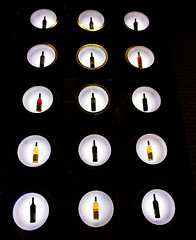 Bottles (DDM Imaging) Tags: abstract design black color colors colour colours bottles display camera light