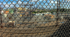 Panorama 3801 hdr pregamma 1 mantiuk06 contrast ma by bruhinb on DeviantArt (bruhinb) Tags: 33rdstreet brewerytown bridge catenary chainlink clouds electrical fence hdr industrial pa panorama park philadelphia rail sky usa vibrant