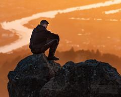 Reflecting (biker1337) Tags: california bayarea sunrise northamerica marincounty unitedstates 2019 eastermorningride mttam america ca mounttam mounttamalpais mttamalpais smr sanfranciscobayarea sundaymroningride us usa millvalley unitedstatesofamerica