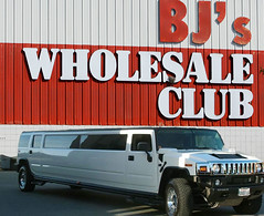 We love BJ's and Hummers (The Graphic Details) Tags: bj bjs hummer hummers monster truck box store humvee sams club costco suv high mobility multipurpose wheeled vehicle