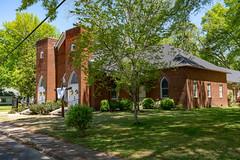 Rossville, TN (J McCallister) Tags: methodist church historic home house trees