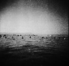 (Victoria Yarlikova) Tags: sea monochrome 120mm analog film blackandwhite scan scanned scanfromnegative epsonv700 ilford darkroom holga toycamera plasticlens mediumformat holga120n lomo experimental