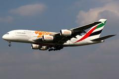 Emirates | Airbus A380-800 | A6-EOB | Expo 2020 livery | London Heathrow (Dennis HKG) Tags: aircraft airplane airport plane planespotting canon 7d 24105 london heathrow egll lhr emirates emiratesairline uae ek airbus a380 a380800 airbusa380 airbusa380800 a6eob
