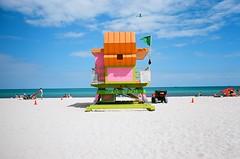 MIAMI canon ae-1 ektar 100 (Beum Billions) Tags: miami florida fl beach south analog film 35mm canon ae1 ocean sky day daylight colorful vibrant vacation leisure fun exploration 100 ektar iso100 ektar100 kodak