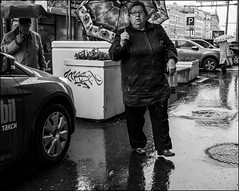 4_DSC4521 (dmitryzhkov) Tags: urban city everyday public place outdoor life human social stranger documentary photojournalism candid street dmitryryzhkov moscow russia streetphotography people man mankind humanity bw blackandwhite monochrome rain autumn badweather
