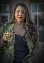 Tonya Winding Down (Luv Duck - Thanks for 15M Views!) Tags: select tonya brunette beautifulgirl wine endoftheday portrait naturalbeauty texasgirl charlotte northcarolina