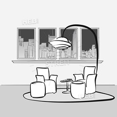 Sketched Interior lounge space (Hebstreits) Tags: apartment architecture armchair background black chair comfort comfortable contemporary couch cozy cushion design divan drawing drawn furniture graphic hand home house illustration indoors interior isolated lamp leisure light line living lounge modern paralume pen pillow relax residential room scetch seat sketch sketchy sofa soft space style table vector white window